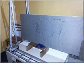 CNC pálící 3d plotter
