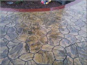 Ražený beton - imitace kamene 58