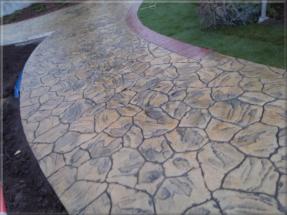 Ražený beton - imitace kamene 66