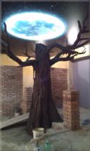 Restaurace strom + podsvícení měsíce 6